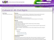 Civil Rights Lesson Plan