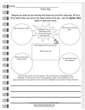 Snow Day! Worksheet