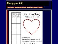 Bear Graphing 1-5 Worksheet