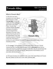 Tornado Alley--  Night of the Twisters Lesson Plan