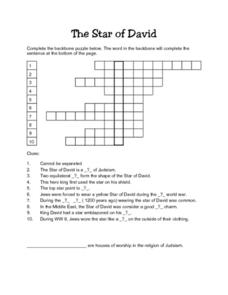 The Star of David Lesson Plan
