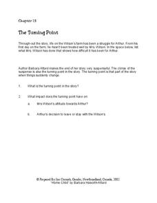 Home Child Chapter 13 Worksheet