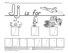 Jj is For... Worksheet