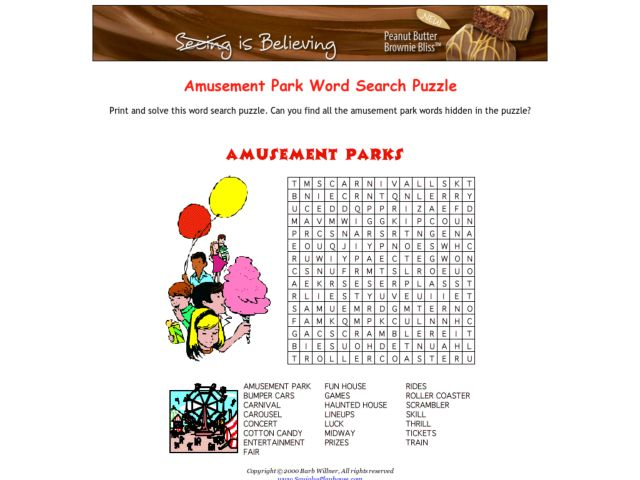 all worksheets amusement park worksheets printable worksheets guide for children and parents. Black Bedroom Furniture Sets. Home Design Ideas