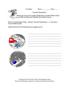 Tornado Preparedness-- Internet Activity Lesson Plan
