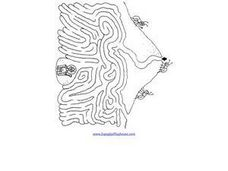 Queen Ant Maze Worksheet