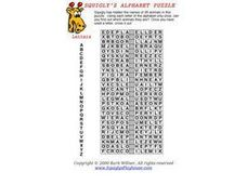 Alphabet Animal Puzzle- Word Search Worksheet