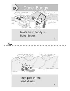 Dune Buggy-- Reading  Booklet Worksheet