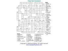 Fairy Tale Crossword Worksheet