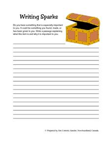 Important Item: Writing Response Lesson Plan