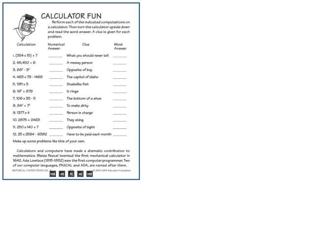 Calculator Words Worksheet Delibertad – W4 Worksheet Calculator