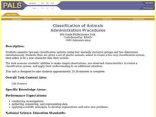 Classification of Animals Lesson Plan