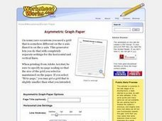 Asymmetric Graph Paper Worksheet
