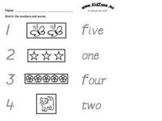 Kidzone.ws Kindergarten Math Worksheet