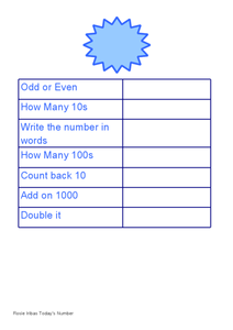 Round Each Number to the Nearest 100 Worksheet
