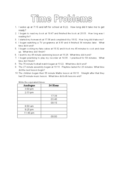 elapsed time word problems 24 hour clock worksheet for 5th 6th grade lesson planet. Black Bedroom Furniture Sets. Home Design Ideas