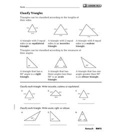 Classify Triangles
