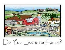 Do You Live On A Farm? Worksheet