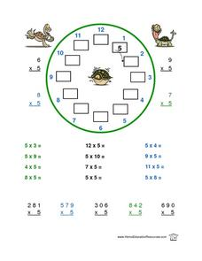 Multiplication By 5 Lesson Plan