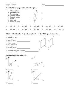 parallel skew lines lesson plans worksheets reviewed by teachers. Black Bedroom Furniture Sets. Home Design Ideas