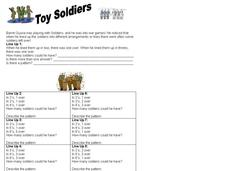 Toy Soldiers Worksheet