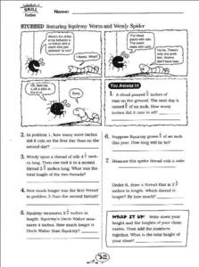 Stubbed Measurement Exercises Worksheet