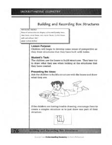 Building And Recording Box Structures Worksheet