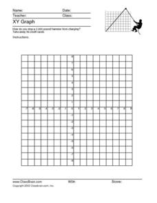 XY Graph Worksheet