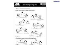 Balancing Penguins Worksheet