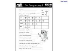 Bird Pictogram Page 2 Worksheet