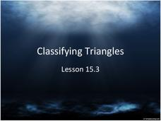 Classifying Triangles Presentation