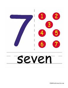 Seven--7 Worksheet