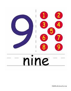 Nine--9 Worksheet