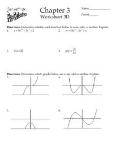 Chapter 3 - Worksheet 3D Worksheet