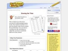 Reading the Time (Telling Time to the Minute) Worksheet