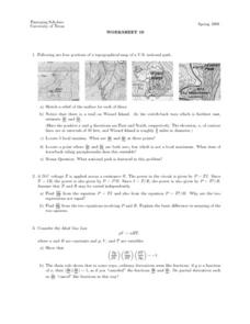 Worksheet 19 - Topographical Maps Lesson Plan