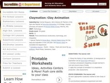 Clay Animation Lesson Plan