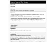 Clean Air Lesson Plan