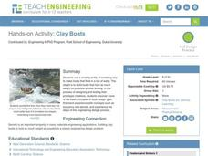 Clay Boats Activities & Project