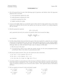 Worksheet 12 Worksheet