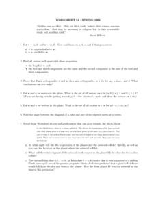 Worksheet 24 Spring 1996 Lesson Plan