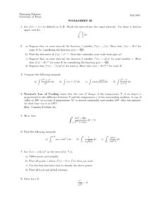 Worksheet 29 - Interval Lesson Plan