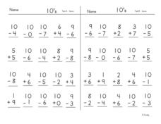 Test 10 Worksheet