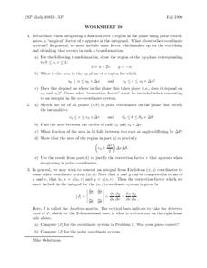 Worksheet 38 Worksheet