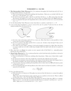 Worksheet 15-Fall 1995 Lesson Plan