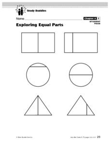 Exploring Equal Parts Lesson Plan