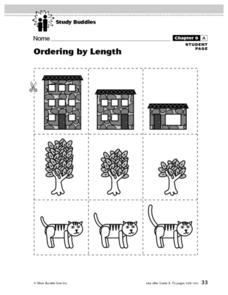 Ordering By Length Lesson Plan