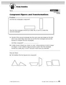 Congruent Figures and Transformations Lesson Plan