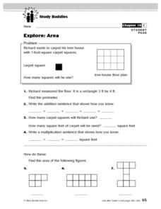 Study Buddies: Explore - Area Lesson Plan