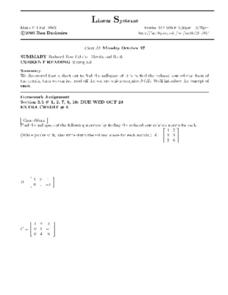 Linear Systems: Reduced Row Echelon Matrix and Rank Worksheet